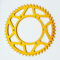 SUZUKI GOLD REAR ALLOY SPROCKET RM RMZ RMX 125 250 450 1984-2018 51 TOOTH