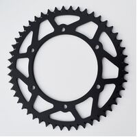 BLACK REAR ALLOY SPROCKET FOR GASGAS / HUSQVARNA 300EC 250EC 400FSE 450FSE TE250 TC250 WR125 WR250 WR300 CR125 TC400 TE400 TC450 TC449 TC510 48 TEETH