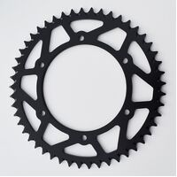 GAS GAS/HUSQVARNA BLACK REAR SPROCKET 300EC 250EC 400FSE 450FSE TE250 TC250 WR125 WR250 WR300 CR125 TC400 TE400 TC450 TC449 TC510 52 TEETH
