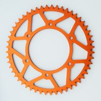 KTM ORANGE REAR ALLOY SPROCKET 125EXC TO 530SX FROM 1995 - 2018 49 TEETH