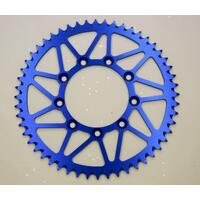 BLUE REAR ALLOY SPROCKET FOR TM MX 125 144 250 300 450 MX EN MXFi 2001-2018 52T 48 TEETH