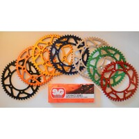 HUSQVARNA REAR ALLOY SPROCKET AND CHAIN KIT WR 250 WR300 WR 250 300 ALL 52 TEETH