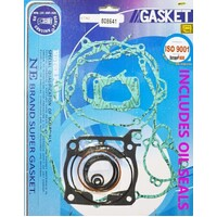 COMPLETE GASKET & OIL SEAL KIT FOR YAMAHA YZ125 2005-2020