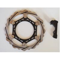 270MM BRAKE OVERSIZE DISC + BRACKET FOR KTM KTM 125CC MX ENDURO 1992 2009