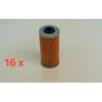 16 X OIL FILTER FOR OIL FILTER MOTORCYCLE - HUSQVARNA, SHERCO