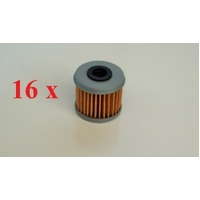 16 X OIL FILTER FOR HONDA ATV POLARIS HUSQVARNA 116OIL FILTER (see description full list)