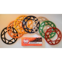 HONDA REAR SPROCKET AND CHAIN KIT CRF250 CRF250X CRF 250 X 2002-2014 50 TEETH