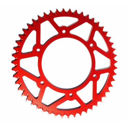 HONDA RED REAR ALLOY SPROCKET CR125 CR250 CRF250R CRF250X CRF450R CRF450X CR500 50 TOOTH